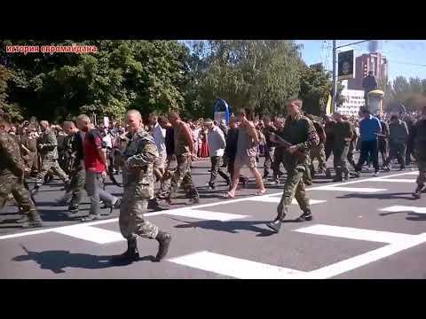 24 августа 2014 Донецк Как Донецк встречал парад военнопленных