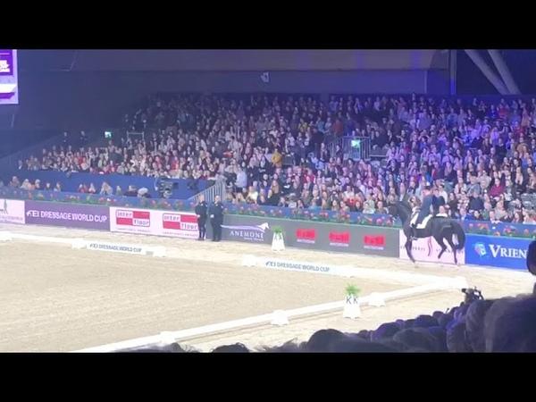 Hans Peter Minderhoud con GLOCK'S DREAM BOY NOP en el GP Freestyle del CDIW Amsterdam 2020