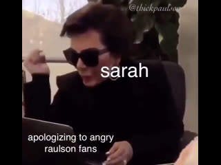 Sarah Paulson vs Raulson