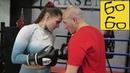 БОКС ДЛЯ БОРЦОВ! Шталь учит девушку-борцуху бить руками — тренировка по боксу для Анжелики