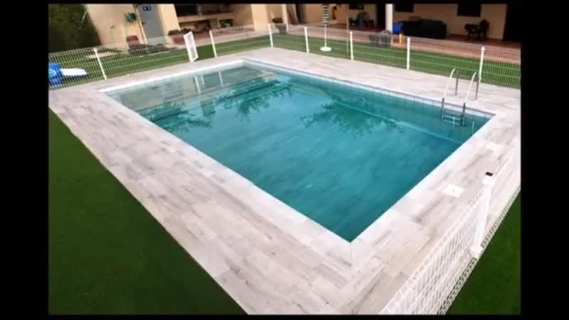 Проекты бассейнов с использованием изделий Gres Aragon