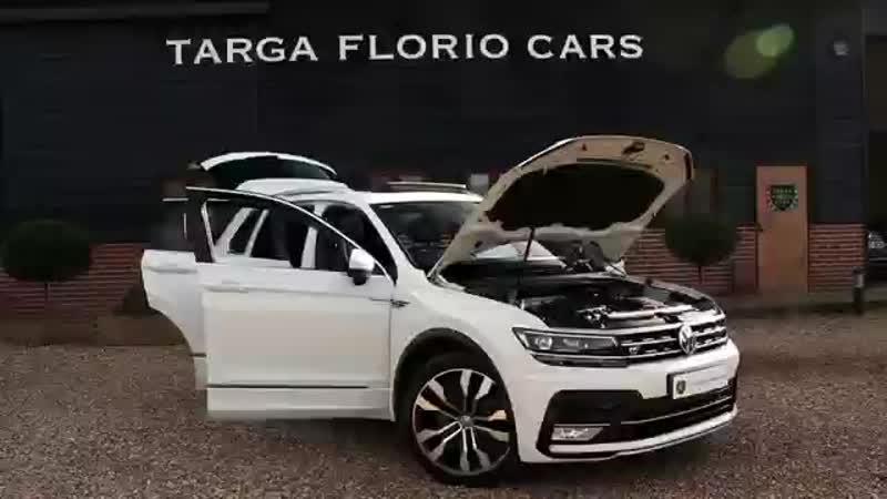 Volkswagen Tiguan R Line 2.0 TSI BMT 4Motion 180PS DSG Automatic in Pure White