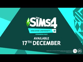 The Sims 4  Discover University Official Reveal Trailer  PS4