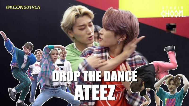 [DROP THE DANCE] ATEEZ(에이티즈) | HIT THE WOAH/BOY WITH LUV/Señorita/WAVE etc. @KCON19LA