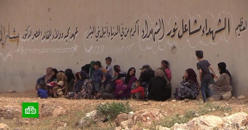 Российскую гуманитарную помощь развезут по пострадавшим от войны сирийским деревням
