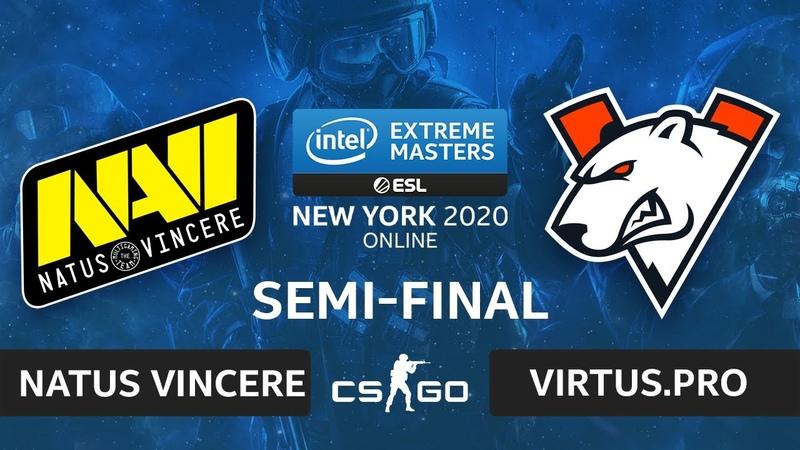 CSGO - Virtus.pro vs. Natus Vincere [Mirage] Map 2 - IEM New York 2020 - Semi-final - CIS