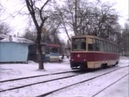 YENAKIYEVO TRAMS UKRAINE 1995