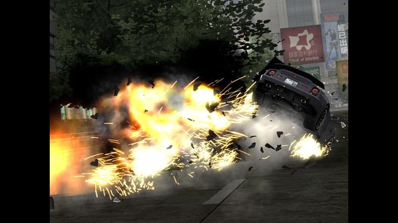 Burnout Revenge!! Signature Takedowns! Xbox 360! Gold medal racing! part 2