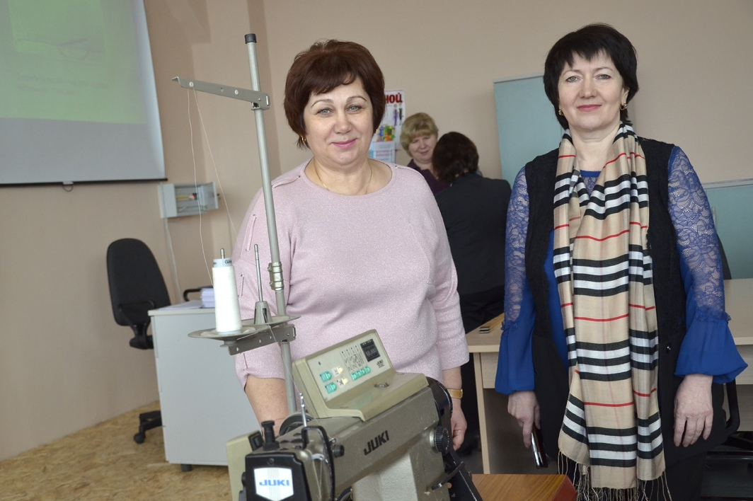 торжественное открытие швейной мастерской.14.02.2020
