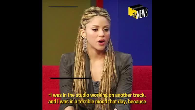 Интервью Шакиры для MTV NEWS