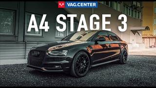 Audi A4 B8 отзыв владельца Stage 3 l Ауди А4 Стейдж 3