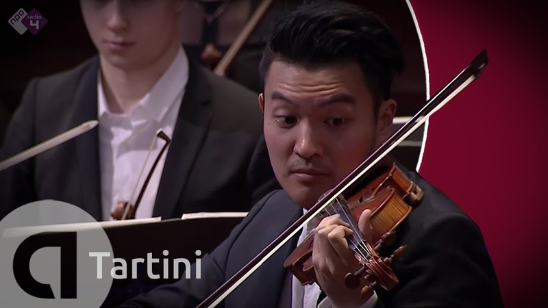 Giuseppe Tartini Devil's Trill Sonata Ray Chen and Amsterdam Sinfonietta Live Concert HD