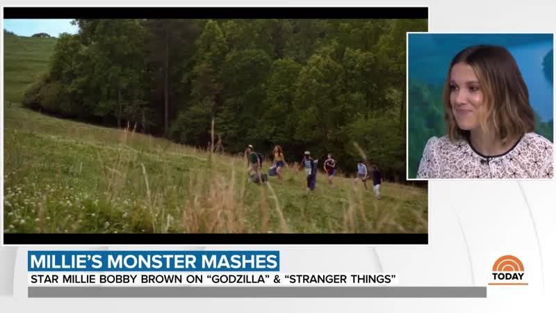 Millie Bobby Brown talks 'Godzilla' and 'Stranger Things 3'