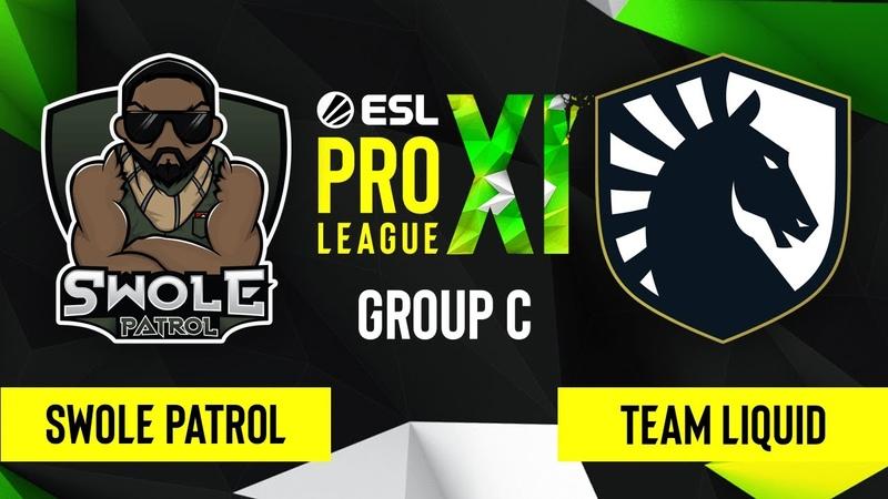 CS GO Swole Patrol vs Team Liquid Vertigo Map 1 ESL Pro League Season 11 Group C