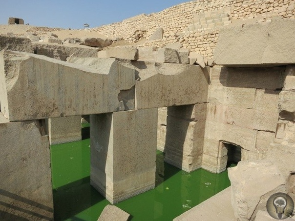 Храм Осириса - высокие технологии прошлого