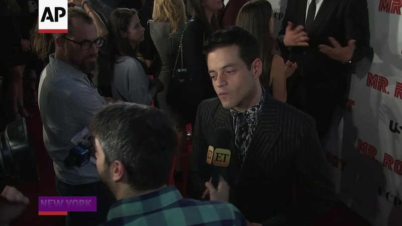 Malek on 'Mr Robot' 'It's very difficult to say goodbye'