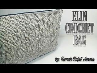 Crochet    Elin Crochet Bag - Spike Stitch (Substitle Available)