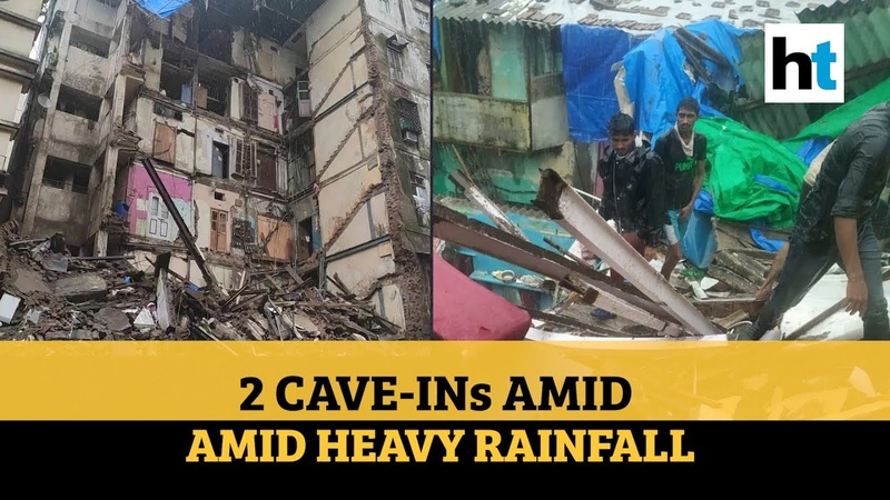 Mumbai 2 buildings collapse rescue ops underway amid heavy rainfall