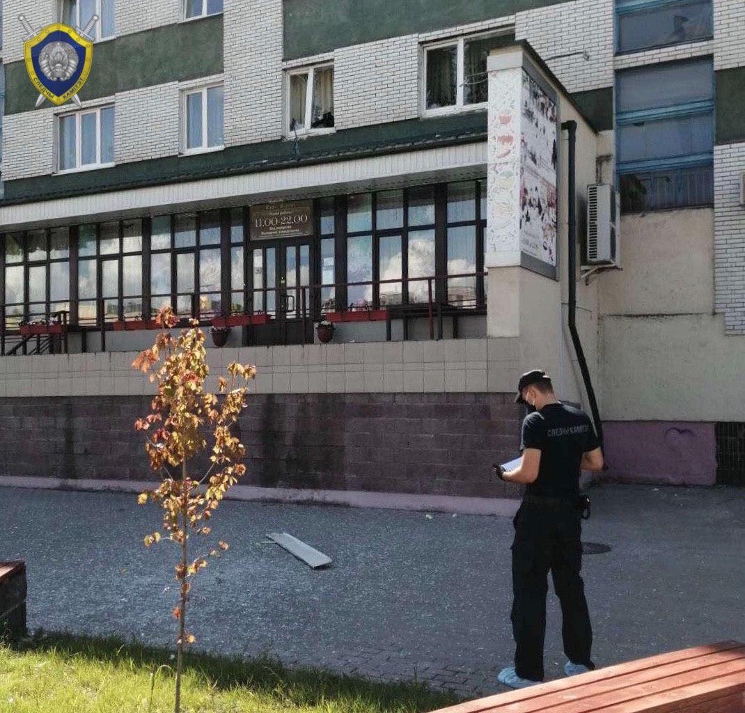 В Пинске произошёл взрыв бытового газа