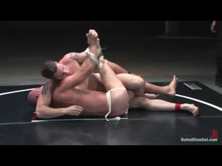 [480] Naked-gay-combat-fighters-(Patrick-Rouge-vs-Wolf-Hudson-The-Oil-Match)-gay-porn (Wrestling)