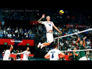 Top 20 legendary mens volleyball spikes of all time ᴴᴰ