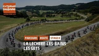 Critérium du Dauphiné 2021 - Découvrez l'étape 8