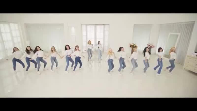 WishGirls Part 2 3 Summer Yours Is Mine Dance Practice WTW Ver 1