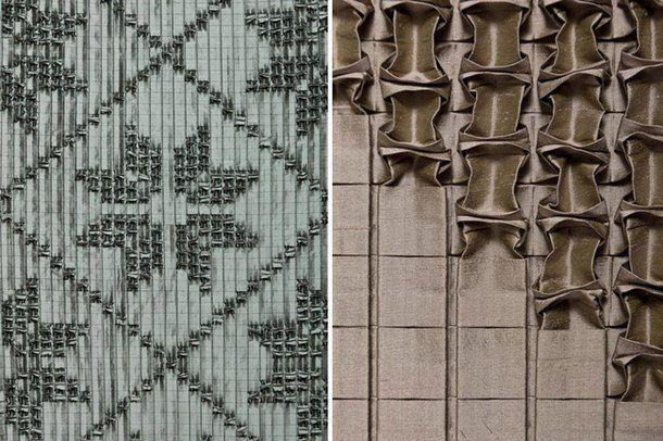 Фактурные стены от Giles Miller Studio.