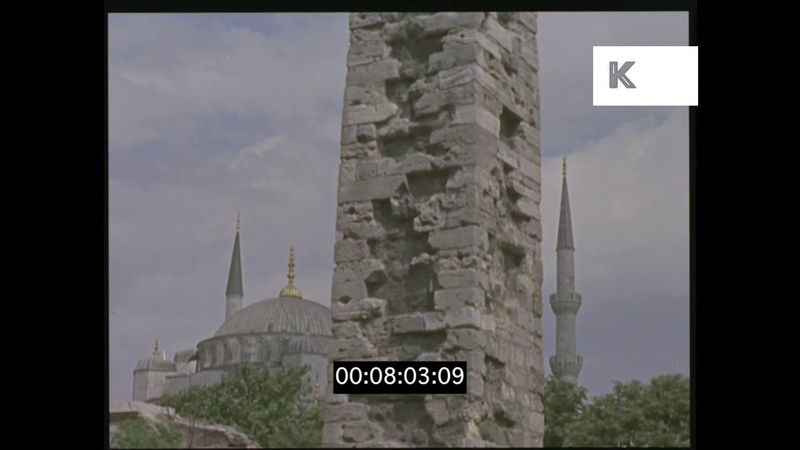 The Blue Mosque 1960s 1970s Istanbul HD