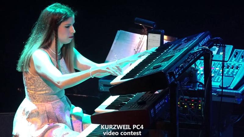 MUITO BOM!! VALE MUITO A PENA VÊ-LOS E OUVI-LOS! Kurzweil PC4 Video Contest - George Tsokanis Marina Tsokani