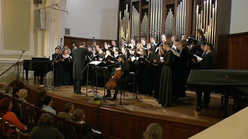 К. Бодров - Торжественный кант в честь ректора А.С. Соколова для виолончели и хора