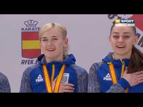 Україна чемпіон Європи 2019 карате Україна спорт золото карате перемога каратэ sport karate Ukraine