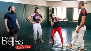 Former WWE Superstar Eve Torres teaches Brie self-defense! - Total Bellas Exclusive