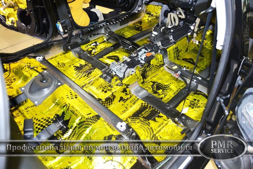 Шумоизоляция Nissan Teana, изображение №2