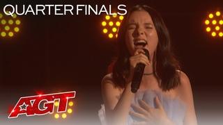 "Daneliya Tuleshova Sings ""Sign of the Times"" by Harry Styles - America's Got Talent 2020"
