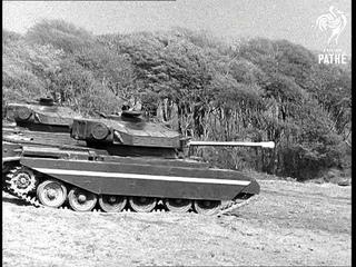 Army Fighting Vehicles Display - Reel 1  (1954)