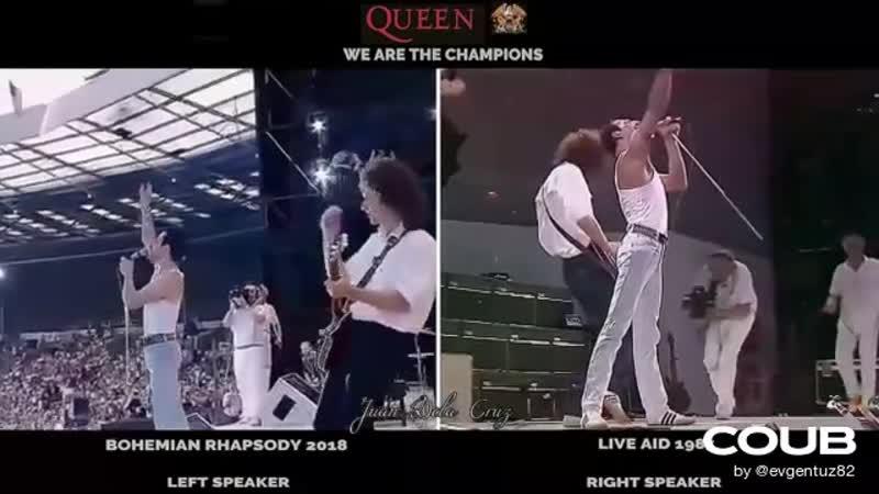 BOHEMIAN RHAPSODY 2018 QUEEN 1985 LIVE AID