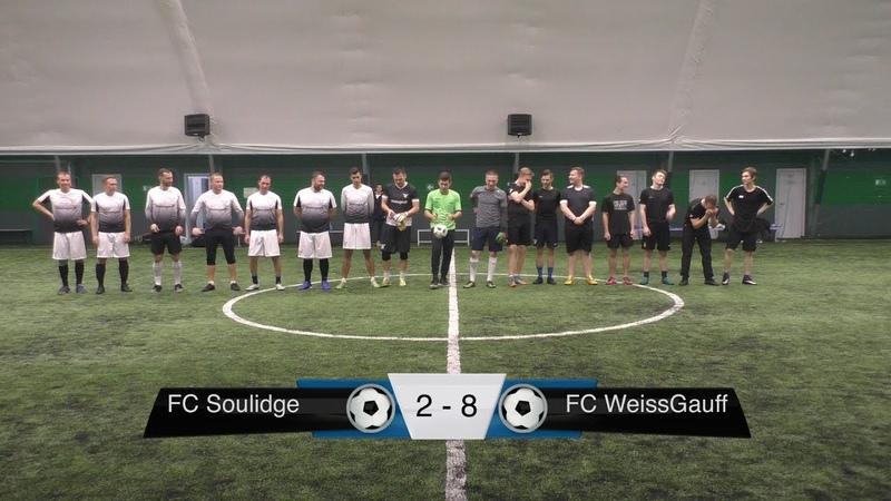FC Soulidge 2-8 FC WeissGauff (Обзор матча)