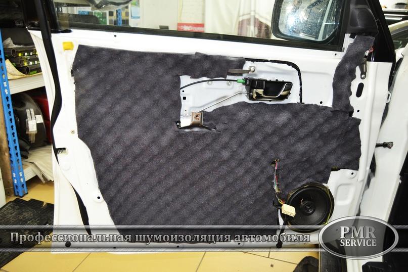 Шумоизоляция Mitsubishi Pajero, изображение №16