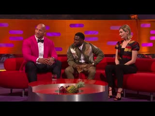 The graham norton show 26x10 - kevin hart, dwayne johnson, michael palin, jodie whittaker, harry styles