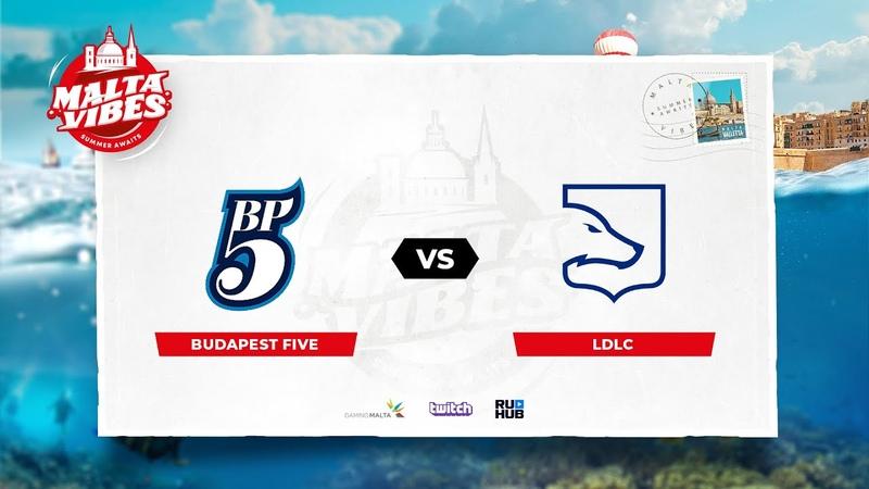 Budapest Five vs LDLC Malta Vibes map2 de dust2 Anishared Gromjkee