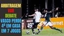 Do meu debate com Gian Oddi ao futebol pobre do Palmeiras e ainda pior do Vasco ambos mais do mesmo