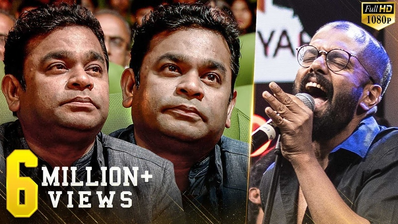 Thaikkudam Bridge's BEST live tribute Rahman is emotionally awestruck Govind Vasantha in Violin🎻