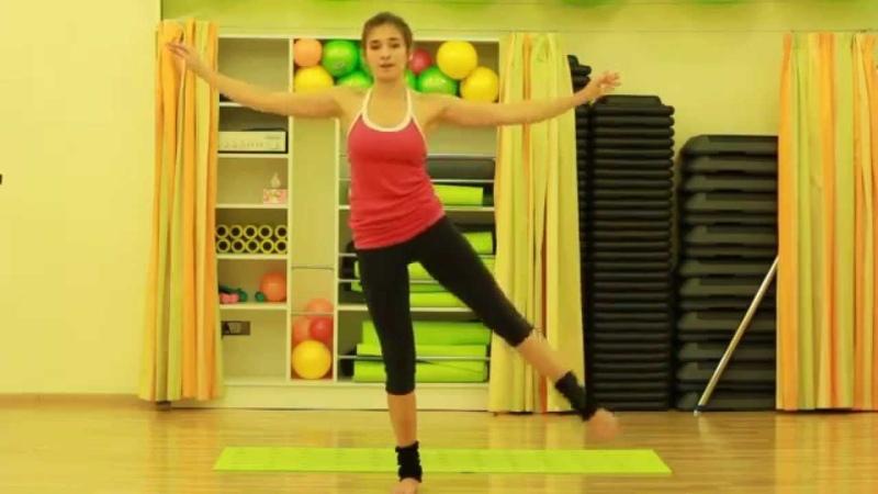 Сила, гибкость и баланс (упражнения для ног и ягодиц) Вправи для сідниць і ніг