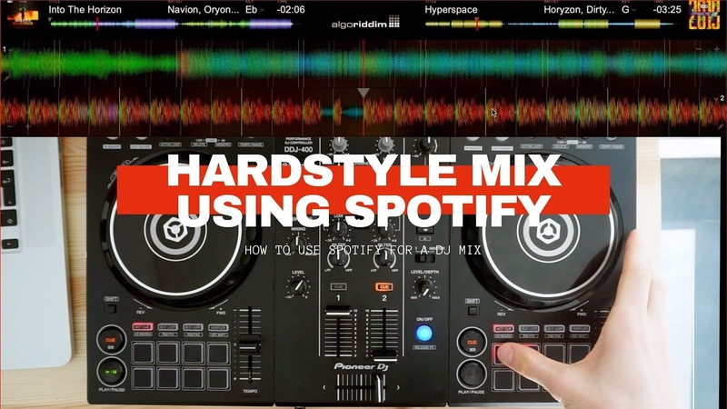Hardstyle 2020 Mix 'Using Spotify' w/ Pioneer DDJ 400 | Adi-G