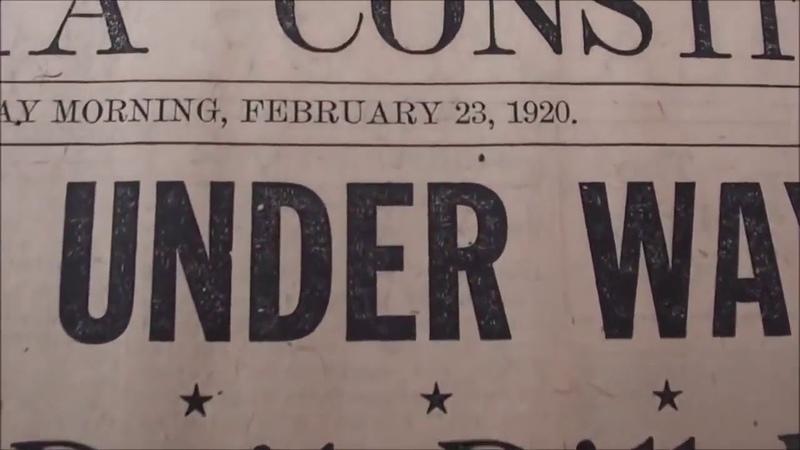 Zeitungen wissen bescheid Jahre vor Hitlers Machtübernahme