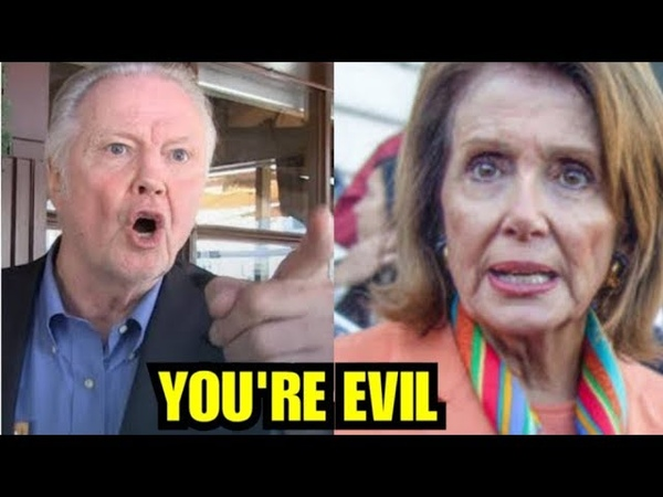 YOURE EVIL WATCH HOLLYWOOD VETERAN UNLEASH ON NERVOUS PELOSI IN EPIC RANT