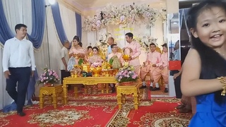 Cambodian Traditional Wedding - Hair Cut Ceremony - Asian Wedding Party