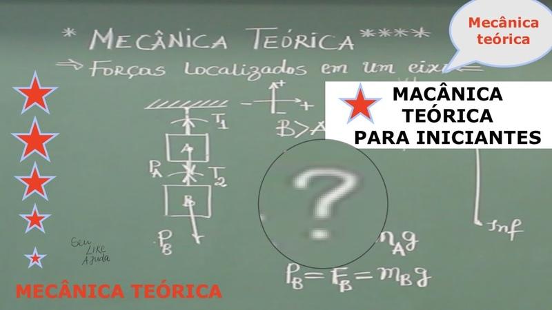 Mecânica teórica Exercício 1 forças em um único eixo