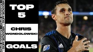 Top 5 Goals: Chris Wondolowski (Most Goals in MLS History)